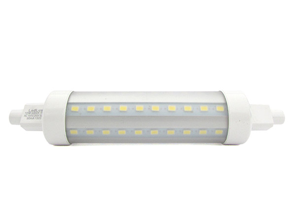 Lampada led r7s 360 gradi rx7s super slim lineare 118mm for Lampada led lineare r7s